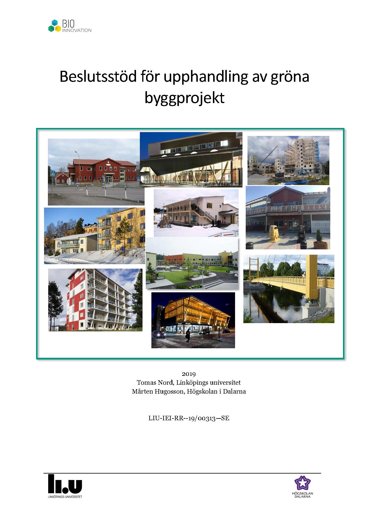 b9cf48d66d4b Slutsats: Kommunerna bör beskriv och definiera långsiktiga mål med  byggandet i kommunen där trä ska ingå som ett konkurrenskraftigt alternativ  i ...